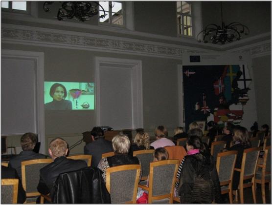 """Edukacinio video filmo """"Neparduok savęs"""" pristatymas Vidaus reikalų ministerijoje"""